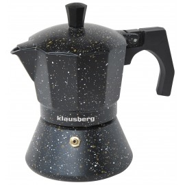 Aluminum espresso coffee maker