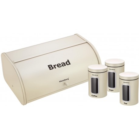 Bread Box With Canister Set Klausberg