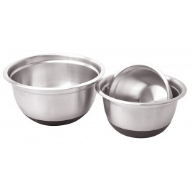 3 Piece stainless steel bowl set
