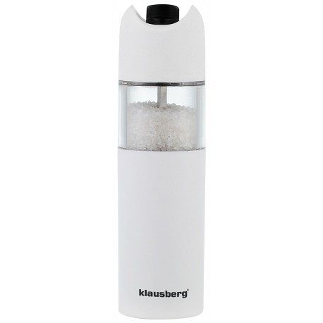 Gravity salt or pepper mill