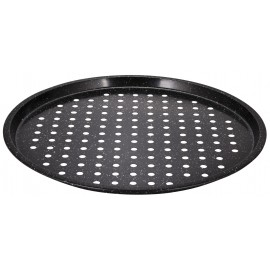 Non stick pizza tray with marble coating